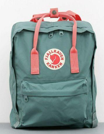Plecak Fjallraven Kanken16l klasyczny GREEN/PEACH PINK