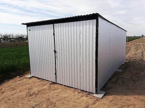Garaż blaszany SZYBKIE TERMINY 3x5m. dostawa i montaż GRATIS