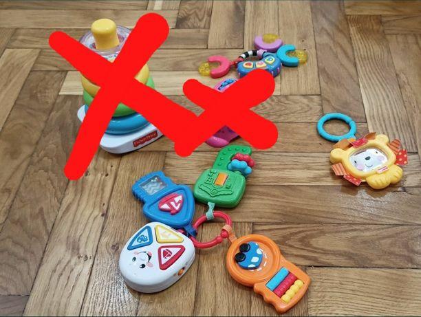 Zestaw zabawek Fischer price dla niemowlaka