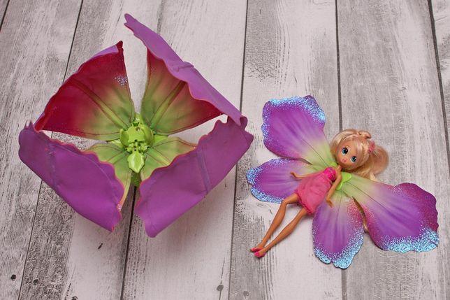 Lalka laleczka Calineczka z kwiatem