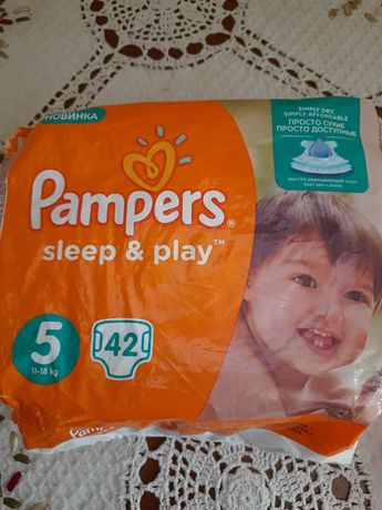 Pampers sleep & play 22 шт.