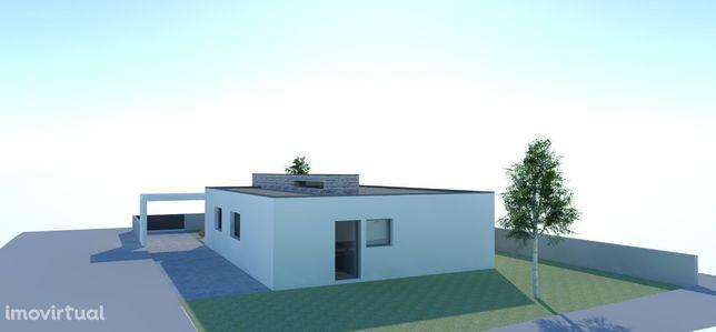 Projecto de construção de moradia isolada, T3