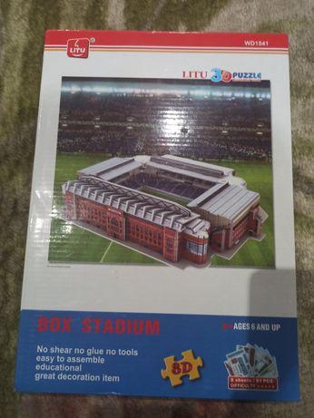 Пазл 3-D стадион