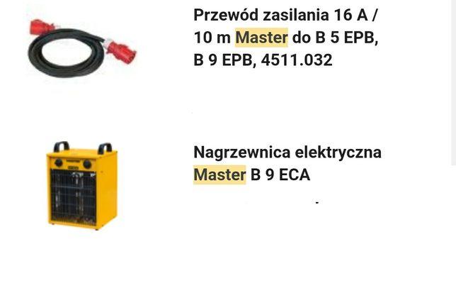 Nagrzewnica elektryczna budowlana Master B9ECA z kablem 9kW