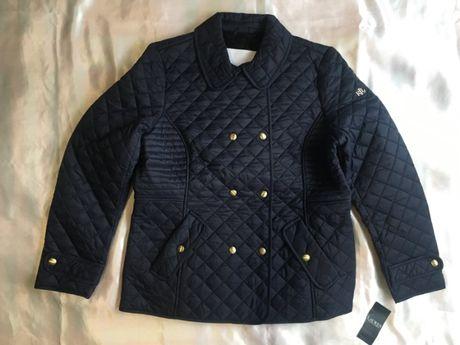 Куртка стеганая, кардиган новая утепленная Ralph Lauren , синяя, xl, о