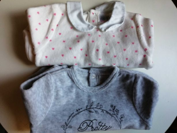 Pijama bebé menina 3m
