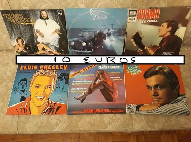 vinil Elvis Preley + vários antigos G
