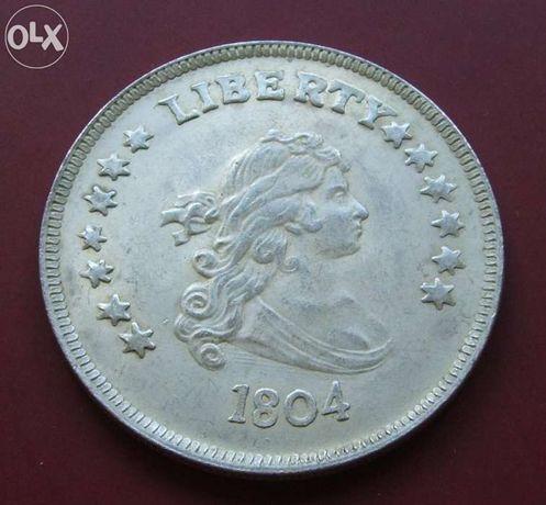 $$$ LIBERTY PORTRET 1804 ROK $$$ USA - Stara Moneta Średnica 44 mm