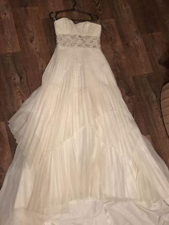 Свадебное итальянское платье