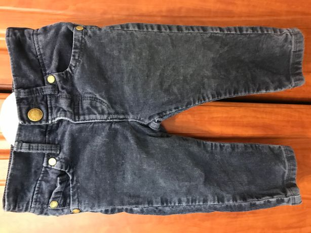 Детские джинсы вельветовые M&S на малыша 1-1,5 года
