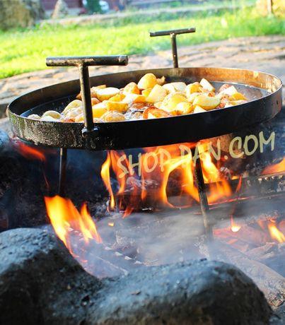 Сковорода из диска крышка чехол, для пикника максимальный комплект