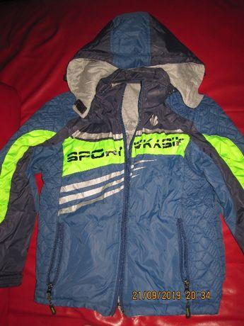 Куртка-ветровка двухсторонняя!