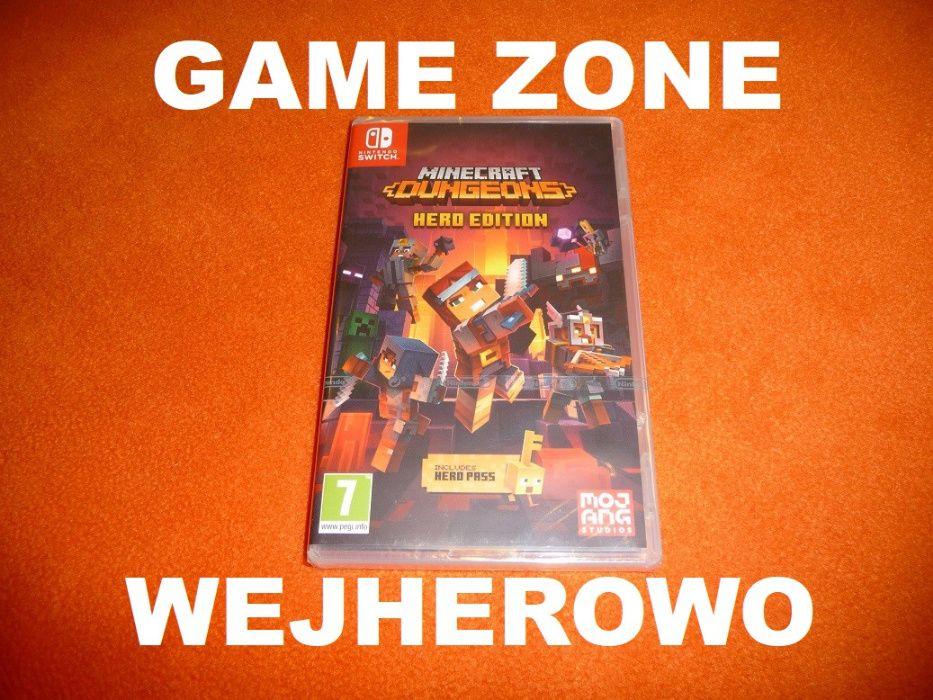 Minecraft Dungeons Hero Edition Nintendo Switch + Lite = Wejherowo