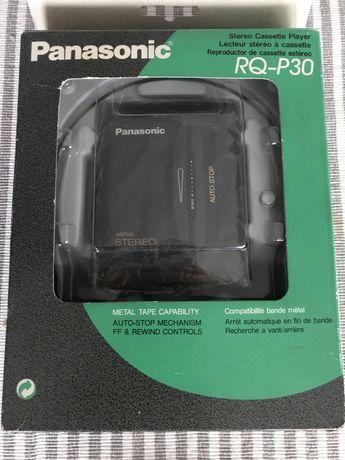 Walkman Panasonic  RQ-P30 STEREO CASSETTE PLAYER boxed metal NOWY