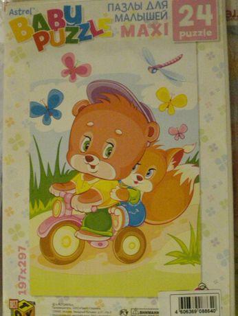 Мягкие пазлы для малышей