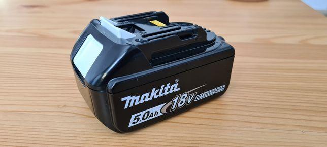 Nowa Bateria Makita 5ah BL1850B PRZEDŁUŻONA GWARANCJA