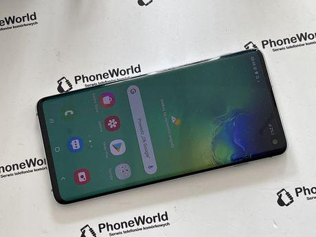 Zadbany Samsung S10 zielony  gwarancja PhoneWorld