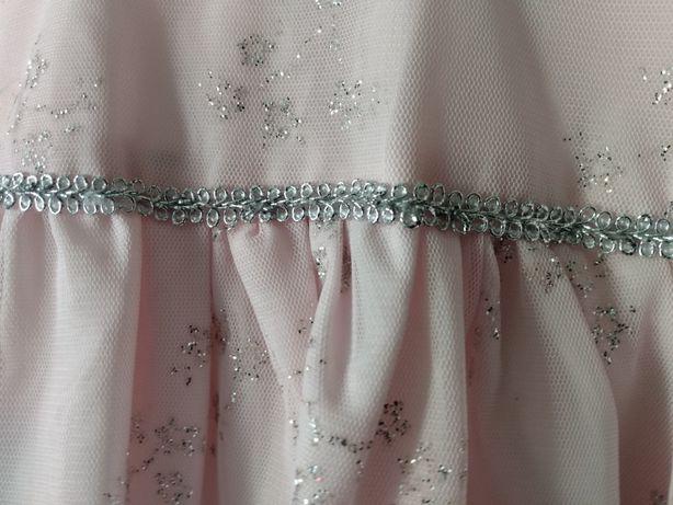 Sukienka r. 98 z brokatem