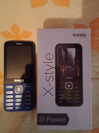 Sigma X-styel s31 Power