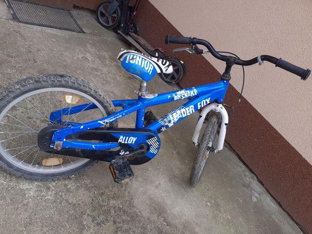 """Rower junior 18"""" aluminiowa rama dla dziecka"""