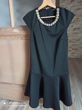 Czarna elegancka sukienka rozm.36/38
