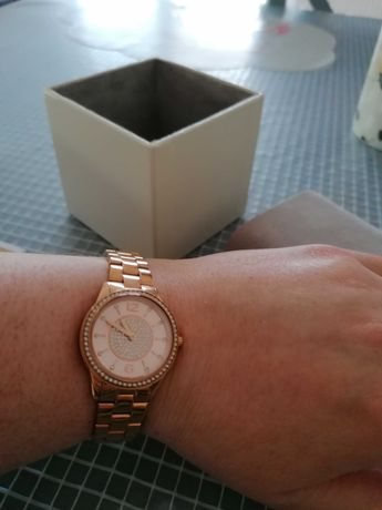Zegarek damski Michael kors różowe złoto