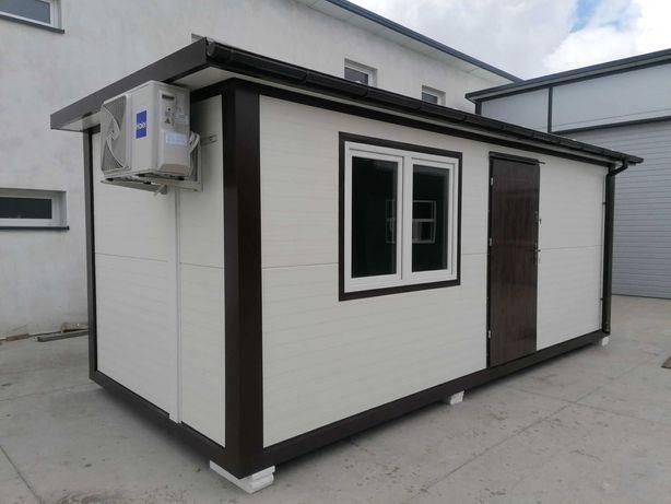 Pawilon mieszkalny domek letniskowy biuro socjalny WC budka dom