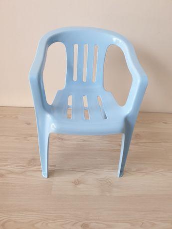 Niebieskie krzesełko