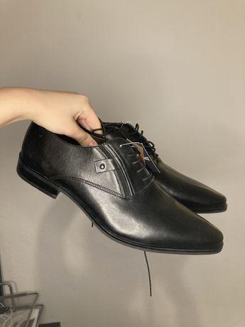 45 B.Blake buty skórzane derby