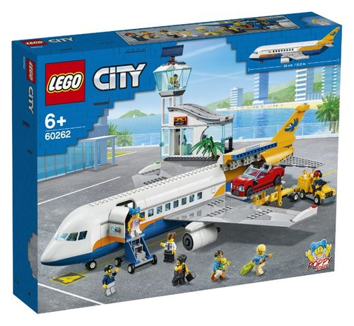 Конструктор LEGO 60262 City Пассажирский самолет 669 деталей Passenger