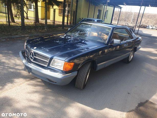 Mercedes-Benz Klasa S sec500 w126 OKAZJA Czytaj OPIS