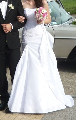 Suknia ślubna Biała Rybka rozmiar 36