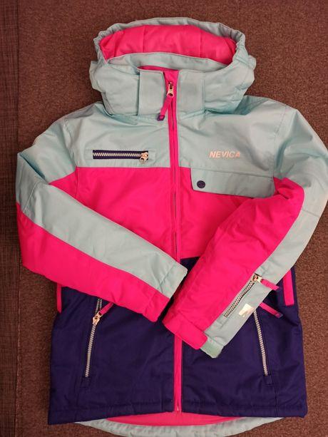 Nevica 146 - 152 kurtka narciarska spodnie bluzka komplet dziewczynka
