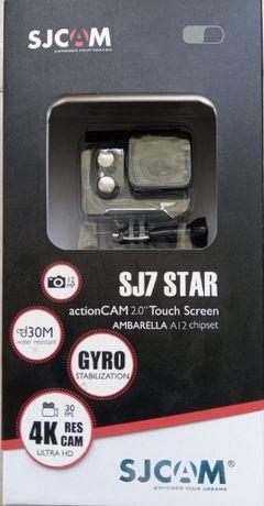 SJ7 star 4K como nova, como gopro 4 pro black