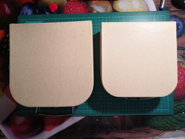 Zestaw tekturowych pudełek decoupage diy