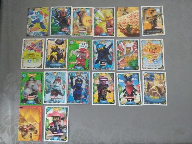 Karty LEGO ninjago seria 5 ZAMIENIĘ