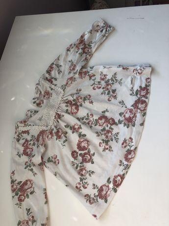 Newbie bluzka róże 68