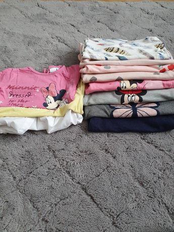 Bluzy i sweterki rozmiar 86-92