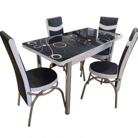 Мебель кухонная стульями 3D обеденной мебели 3д стол столы кухонные