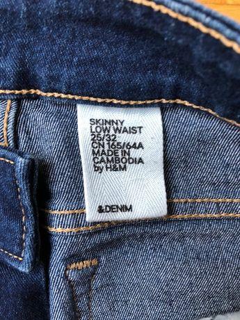 Spodnie damskie denim H&M roz. 32