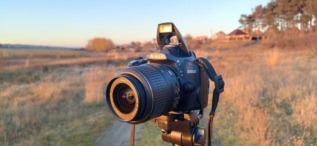 Nikon D3000+Сумка+Карта,Объектив Kit,фотоаппарат,D3100,неCanon,Sony
