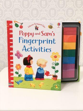 Poppy and Sam ,Fingerprint Activities ,Usborne с пальчиковыми красками
