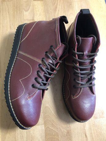 Новые кожаные деми ботинки сапоги Blakeseys 43р ecco geox clarks