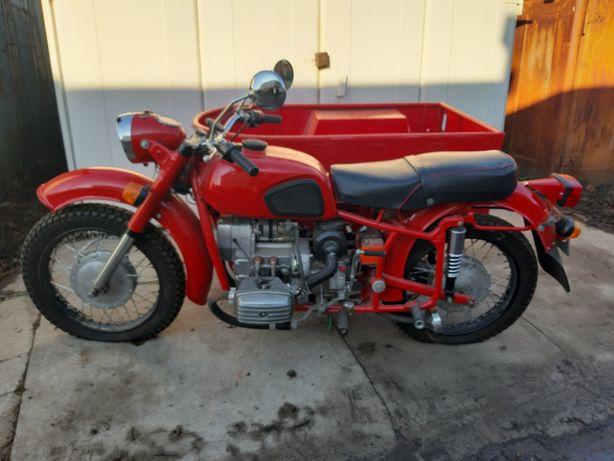 Новый мотоцикл днепр мт общепит ( фуд трак food truck кофе)