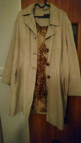 Płaszcz, kurtka wiosenno-jesienny długi roz.52