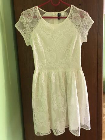 H&M piękna koronkowa sukieneczka r 36
