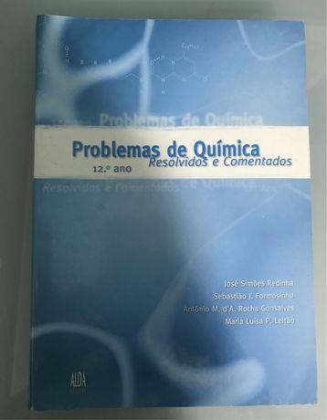 Problemas de Química - 12º ano