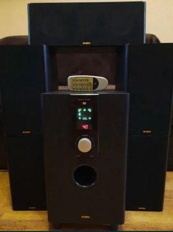 Акустическая система 5.1 DTS, Dolby Digital Sven X5-31