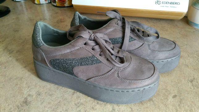 Nowe buty koturn