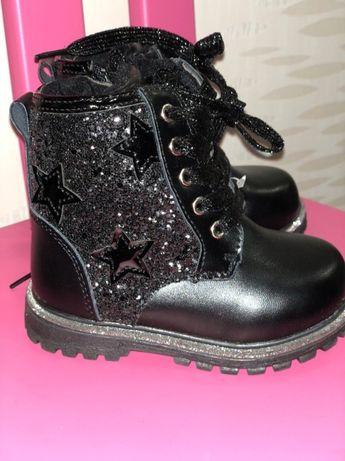 Ботинки для девочек Jong Golf 22р.